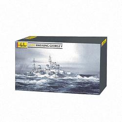 Heller 1:400 - HMS King George V
