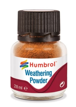 Humbrol Weathering Powder 28ml - Rust - NEW (x6)
