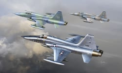Kinetic 1:48 - Northrop F-5a / Canadair CF-5a