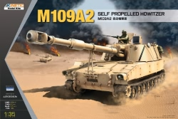 Kinetic Photoetch 1:35 - M109A2 Self Propelled Howitzer