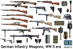 Masterbox 1:35 - German Infantry Weapons WW II era