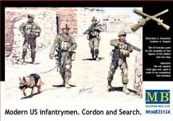 Masterbox 1:35 - Modern US Infantrymen 'Cordon and Search'