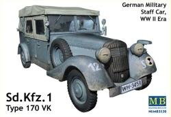 Masterbox 1:35 - Mercedes-Benz VK-170 (3 in 1)