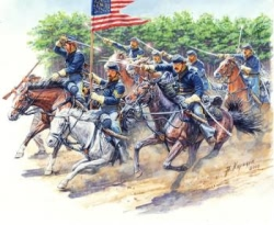 Masterbox 1:35 - US Civil War Series: The Attack of the 8th Pennsylvania Cavalry