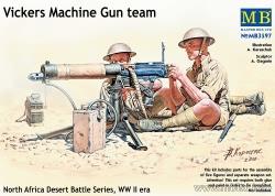 Masterbox 1:35 - Vickers Machine Gun Team