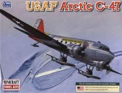 Minicraft 1:144 - USAF Artic C-47 R4D