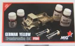 Mig Productions - German Yellow Transformation Set