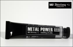 Mig Productions Oil Colours - Metal Power Silver