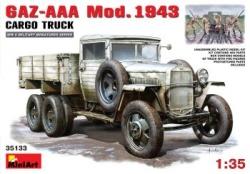 Miniart 1:35 - GAZ-AAA Mod. 1943 Cargo Truck