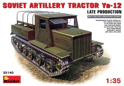Miniart 1:35 - Ya-12 Late Prod Soviet Artillery Tractor