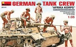Miniart 1:35 - German Tank Crew 'Afrika Korps'