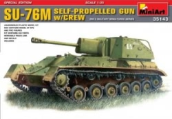Miniart 1:35 - Soviet SU-76 M Special Edition w/ Crew