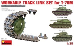 Miniart 1:35 - Workable Track Link Set for T-70M Light Tank