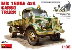 Miniart 1:35 - MK L1500 A 4x4 Cargo Truck