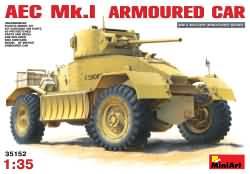 Miniart 1:35 - AEC Mk.1 Armoured Car