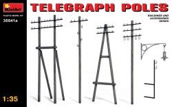 Miniart 1:35 - Telgraph Poles