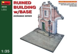 Miniart 1:35 - Ruined Building w/ Base