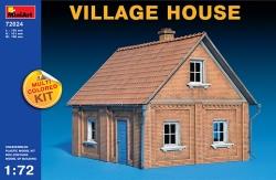 Miniart 1:72 - Village House (Multi Coloured Kit)