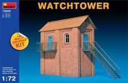 Miniart 1:72 - Watchtower (Multi Coloured Kit)