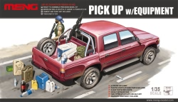 Meng Model 1:35 - Toyota Hilux Pick Up Truck w/ M82a1 Rifle / M240B Gun