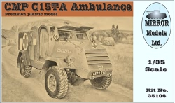 Mirror Models 1:35 - CMP C15TA Armored Ambulance