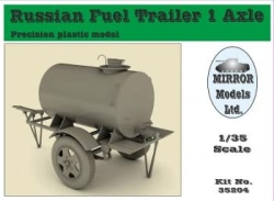 Mirror Models 1:35 - Russian Fuel Trailer 1 Axle