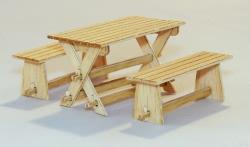 Plusmodel 1:35 Garden Furniture