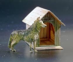 Plusmodel 1:35 Kennel/ Dog House