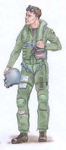 Plusmodel 1:48 - F-16 Pilot