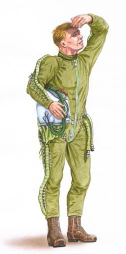 Plusmodel 1:48 - Warsaw Pact Pilot