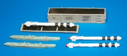 Plusmodel 1:48 - Missile R-60 training unit
