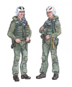 Plusmodel 1:48 - Crew F-4 Phantom