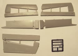 Plusmodel 1:72 - DHC-4 Caribou - Tail Surfaces