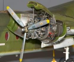 Plusmodel 1:72 - DHC-4 Caribou - Engine Set