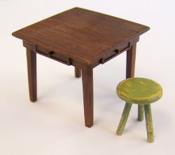 Plusmodel 1:35 - Table and Seat