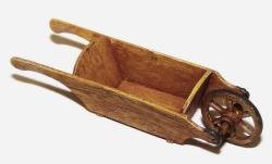 Plusmodel 1:35 - Wooden Wheelbarrow