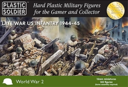 Plastic Soldier Company 15mm - American Infantry 1944-45