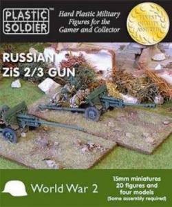 Plastic Solder Company 15mm - Russian Zis 2/3 gun