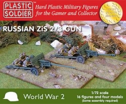 Plastic Solder Company 1:72 - Zis 2 and 3 anti tank/field gun