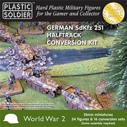 Plastic Solder Company 15mm - Easy Assembly German 251 Halftrack Conversion Kit
