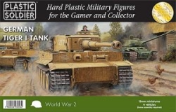 Plastic Solder Company 15mm - WWII German Tiger I Tank