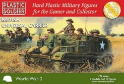 Plastic Solder Company 1:72 - Easy Assembly British Universal Carrier