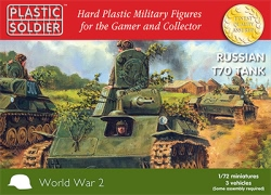 Plastic Soldier Company 1:72 - Russian T70