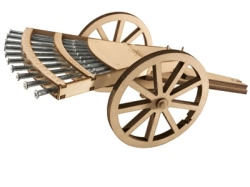 Revell 1:16 - Leonardo Da Vinci Multiple Barrel Gun