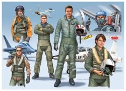 Revell 1:72 - Combat Pilots (D/GB/USA) modern