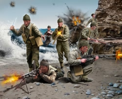 Revell 1:72 - British Commandos WWII
