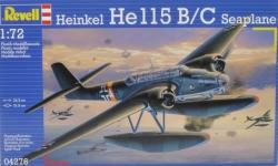 Revell 1:72 - Heinkel He 115 Seaplane