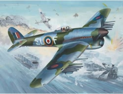 Revell 1:144 Micro Wings - Hawker Typhoon Mk.1B