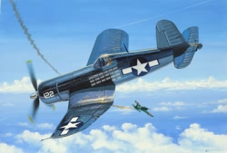 Revell 1:144 Micro Wings - F4U-1 Corsair