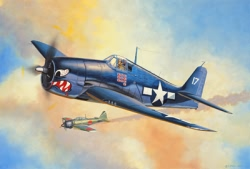 Revell 1:144 Micro Wings - F6F-3 Hellcat